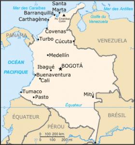 Colombie-carte