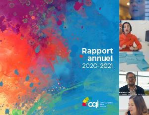 couverture rapport annuel CQI 2020-2021
