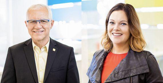 Daniel Vaugeois et Rachel Tardif